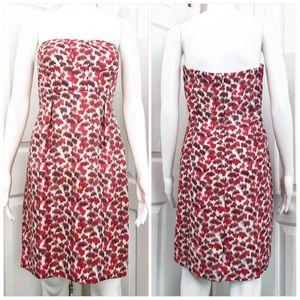 J. Crew Collection Silk Strapless Dress